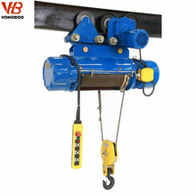 6M 12M 18M 24M 30M 220V wire rope electric crane hoist 3 ton 380V