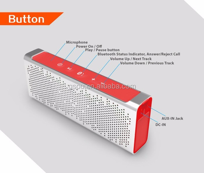 Promotional Thin Oem Nfc Rohs 10W Cheap Fm Radio Bluetooth Speaker Made In China