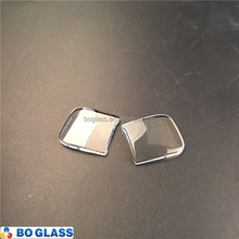 Customized polished high temperature borosilicate glass sheet