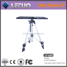 portable tripod short throw adjustable projector tripod stand