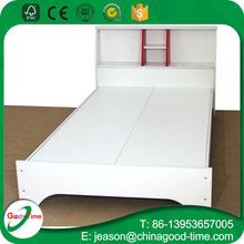 bedroom melamine cheap prcie wooden single bed designs