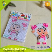 Latest product originality pe diy beads puzzle beads diy animal toy from manufacturer