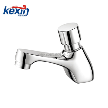 China Professional Manufacture Brass Self Closing Basin Faucet
