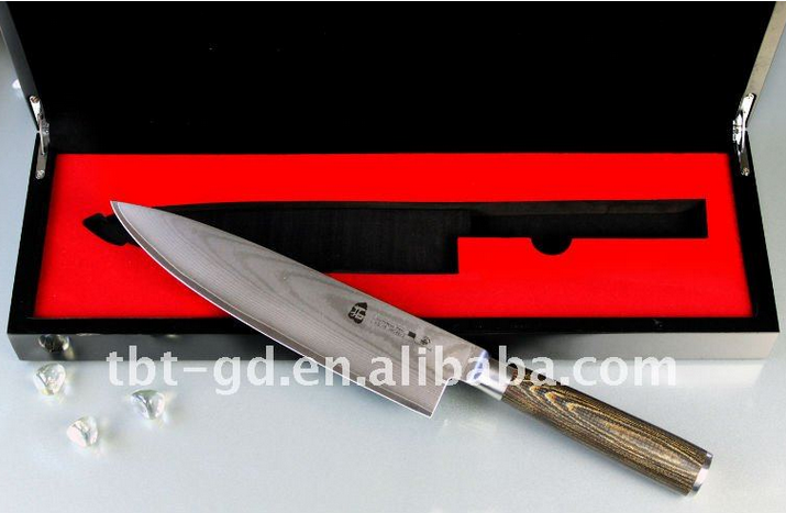 Japanese Damascus Steel VG10 Chef Knife