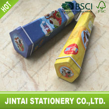 color pencil set packing in tin tube