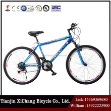 2017 Factory price carbon fiber mountain bike with 24 speed