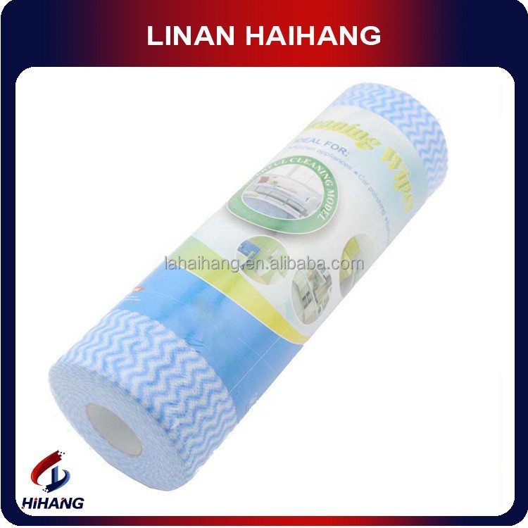China manufacturer OEM high Quality China hot spunlace nonwoven wipes roll