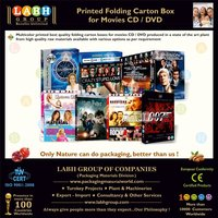 Packaging Box for Movies CD & DVD 4