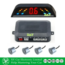 Fashion LED car parking display built in buzzer alert parking sensor OEM/ODM XY-5303