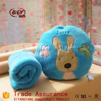wholesale large sugar rabbit air conditioning blanket summer cool coral fleece blankets