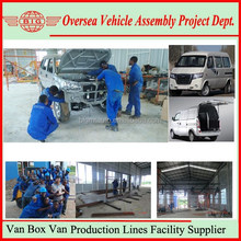 Build Passenger Van Box Van Completely Vehicle Assembly Plant In Your Country