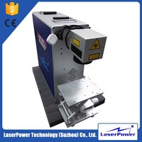 Pulsed rings fiber laser marking machine price for key chain printing