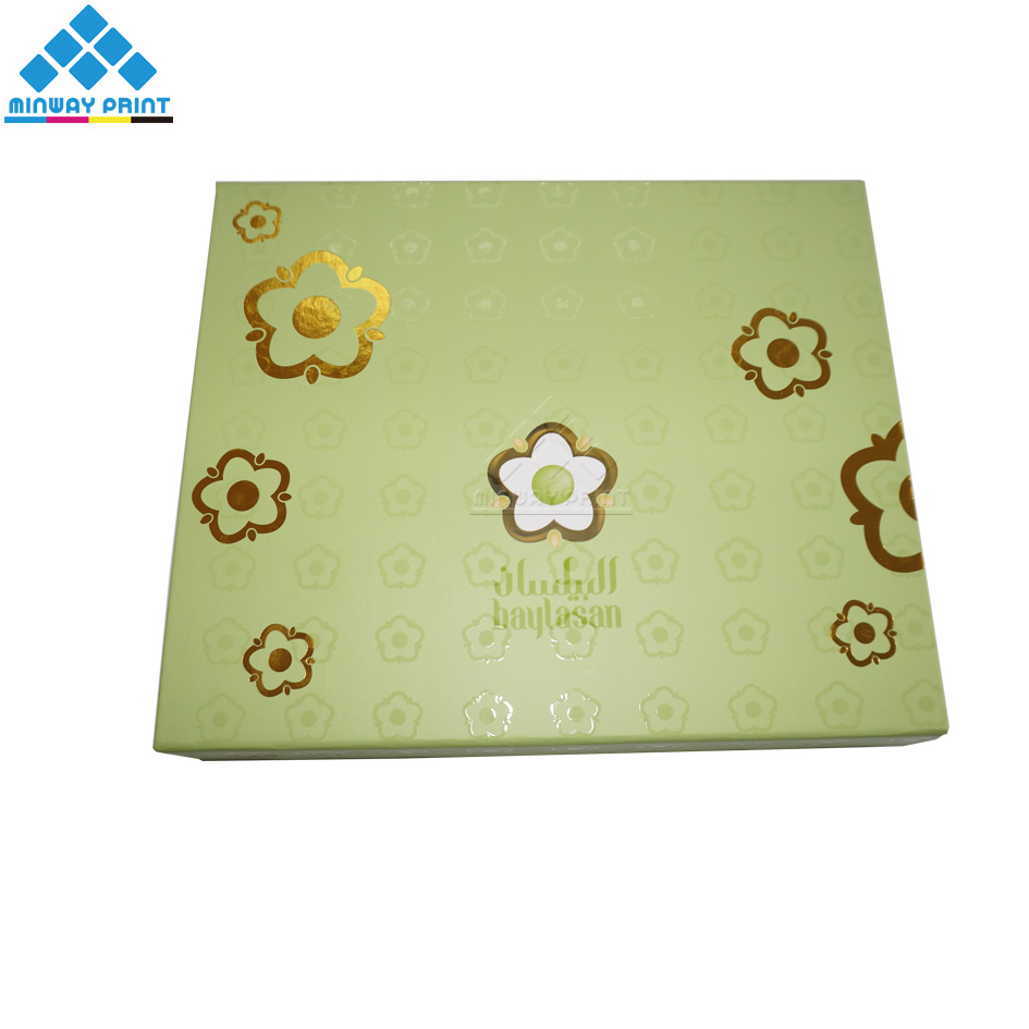 Hot Sales Fancy Dessert Packaging Box with Plastic Inserts and Blister Pack for Sweets