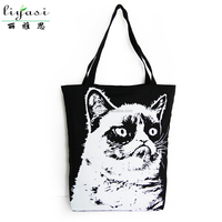 Cheap Wholesale Blank Black Cotton Canvas Tote Bag ,High Qulaity Plain White Cotton Canvas Tote Bag