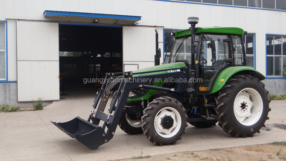 6 Wheel Drive Tractor : Wheel drive compact agricultural tractor different front