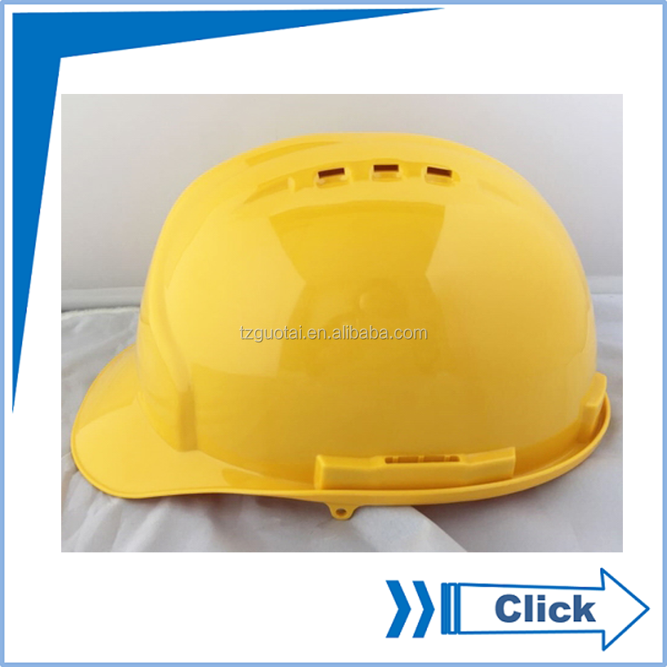 Cap Style Vented Safety Helmet