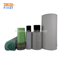 synthetic fiber roll pre air filter cotton from China