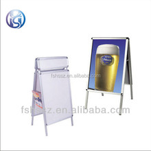H35 Outdoor A Frame Poster Stand Folding Double Sides Pavement Sign
