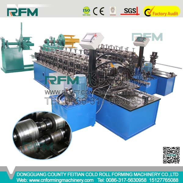 Strut channel machine hot selling [metal profile rolling machine] Metal strut channel roll forming machine& U channel roll form