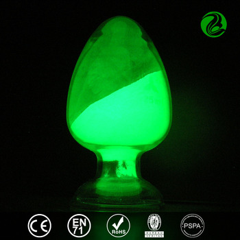Green photo luminescent pigments,luminofor,night glow