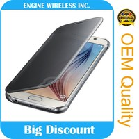 new products on china market flip wallet leather case for samsung galaxy core 2