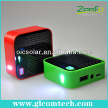 Mini cube solar power bank battery case for iphone, ipad 2,iphone,iphone 5/5s and balackberry