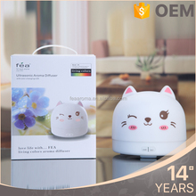 High Quality Tabletop Cute Cartoons Design Anion Humidifier Manual Diffuser Aroma Perfume