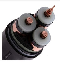 8.7-10kv two-core XLPE insulated PVC sheathed power cable