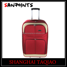 Fashion 600D ladies eva trolley case red trolley luggage