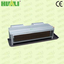 CE hydronic home hot water horizontal concealed fan coil unit