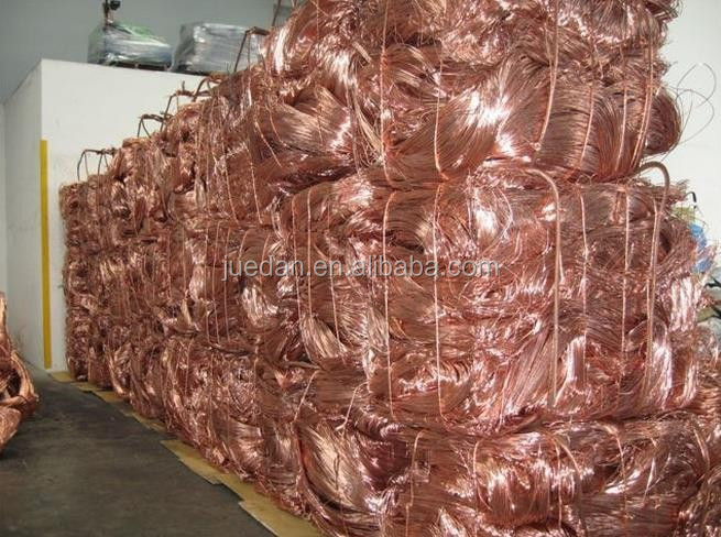 copper scrap / copper wire for sale/ Mill berry copper pure 99.995%