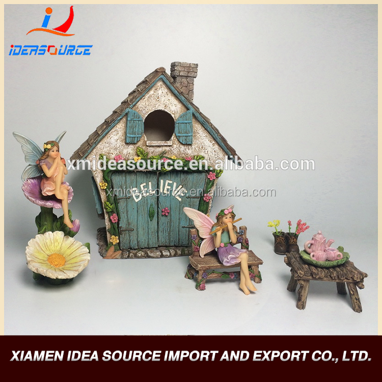 Professional Resin Crafts/Resin Figurine/Fairy Garden Miniatures Kits