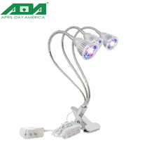 2017 Shenzhen latest model triple head led grow light indoor use three bulbs grow lighting for greenhouse
