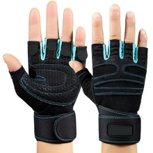 Professional Training Wrist Wrap Weight Lifting Gym Workout fitness Gloves