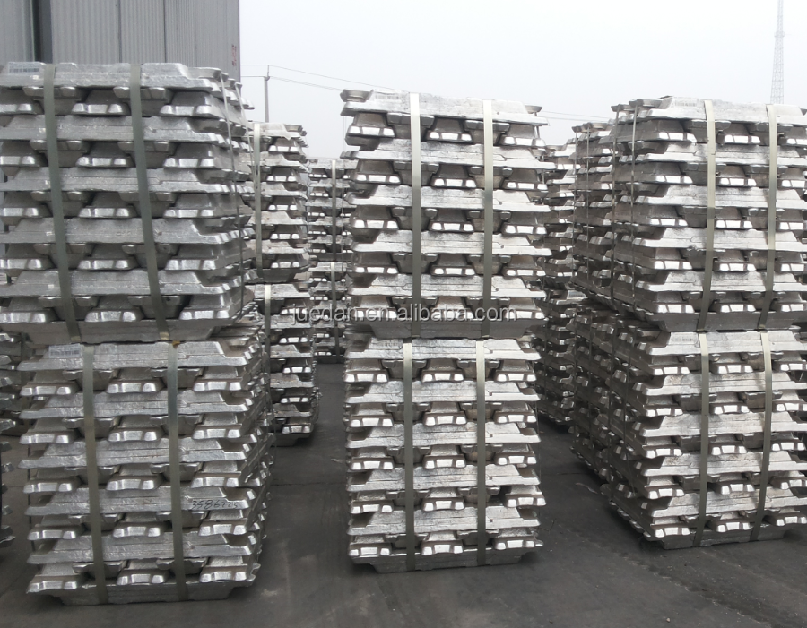 China Aluminium ingot manufacturer to spot prices with highly purity