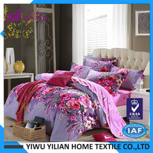 Hot selling trendy style brand name bed sheets wholesale