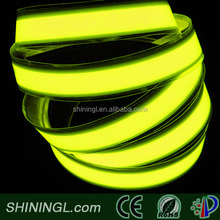 High Brightness Waterproof Yellow rgb Electroluminescent Lighting el tape