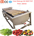 High Definition Industrial Strawberry Air Bubble Fruit Washing Machine