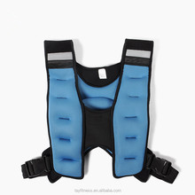 Popular Body Building Sand Filled Weighted Vests Adjustable Weight Vest