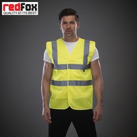 China Wholesale Reflective Security Mesh Man Vest