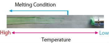 Temperature indicating stick for welding machine/Melting stick/Thermo crayon