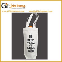 Promotional Cotton Tote Bag for Wine Packing