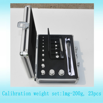 F1 F2 M1 test weight kit 1mg 200g calibration weight set for jewelry scale calibration