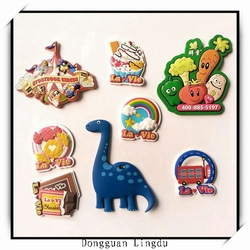 home decoration strong rubber magnet PVC fridge magnet