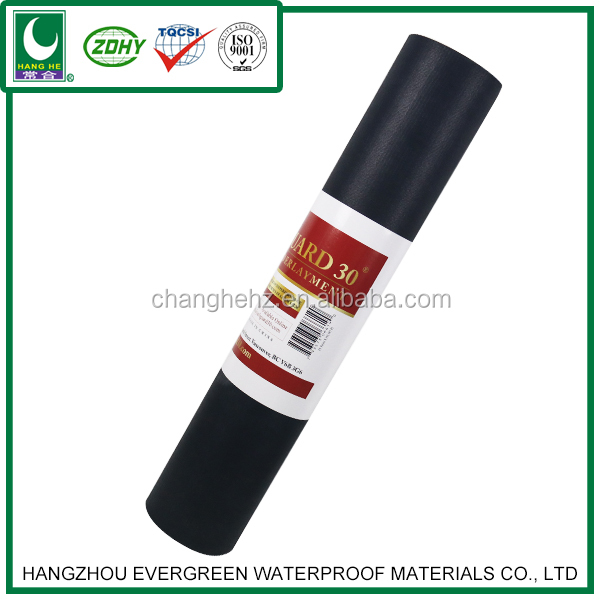 SBS Modified Bitumen Waterproof Sheet Membrane Material for road construction