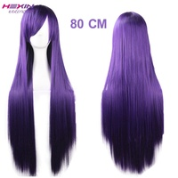Purple Aliexpress Human Hair Wigs Wholesale Bulk Hair for Wig Making