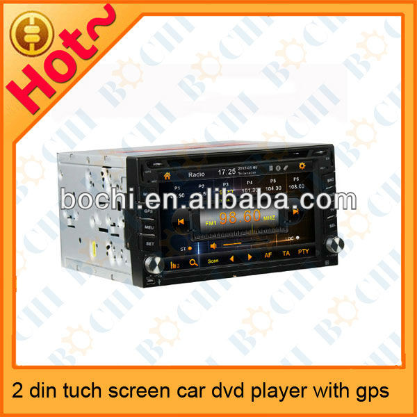wholesale 2 din tuch screen car dvd gps for peugeot 407/408