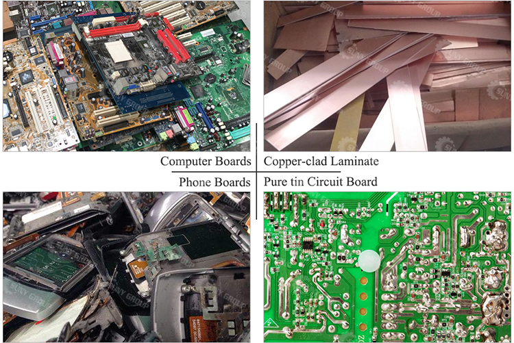 High separation Rate E Waste Computer Recycling