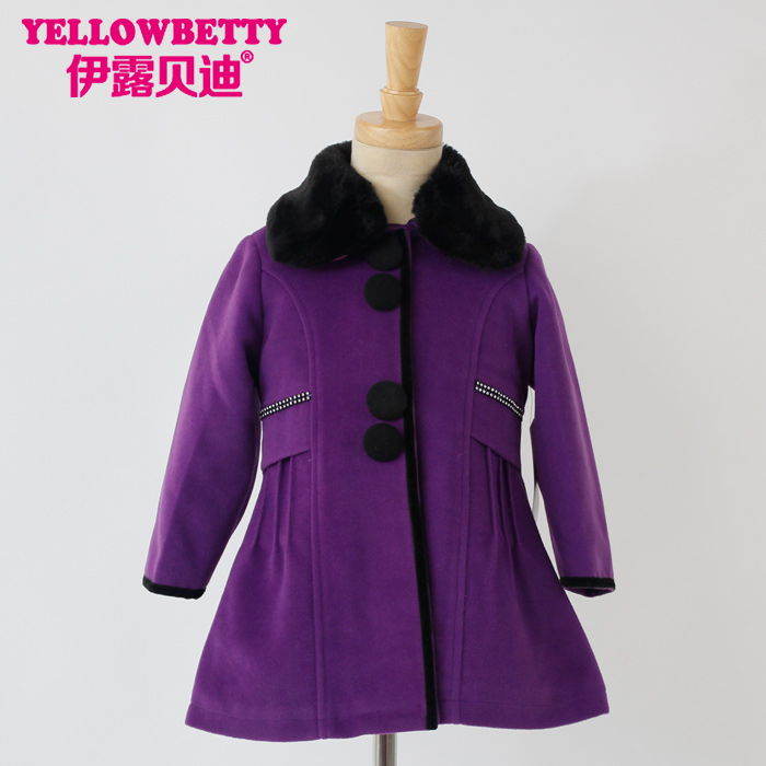 Wholesale fashion children winter coat quality children clothes