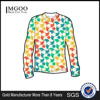 MGOO Wholesale O-neck Men Custom Design Logo Printed T-shirts 100% Cotton Long Sleeve Tee